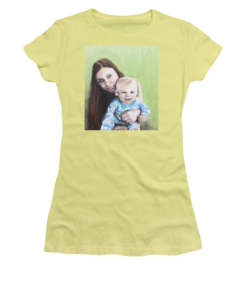Mother And Son Women's T-Shirt (Athletic Fit)