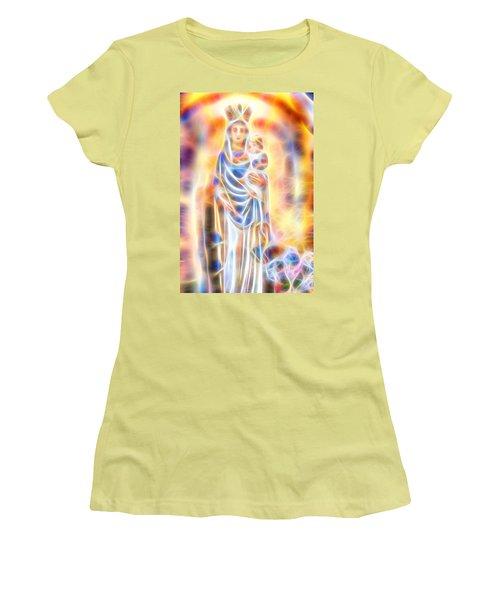 Mother Of Light Women's T-Shirt (Junior Cut) by Dave Luebbert