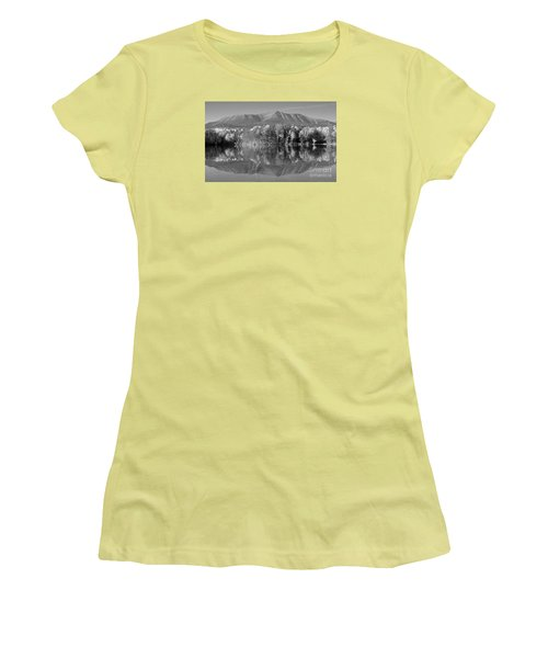 Mt Katahdin Baxter State Park Fall Women's T-Shirt (Athletic Fit)