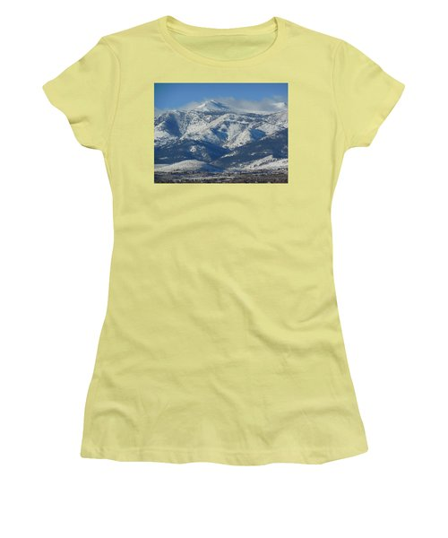 Mt Rose Reno Nevada Women's T-Shirt (Athletic Fit)