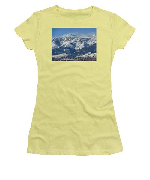 Mt Rose Reno Nevada Women's T-Shirt (Athletic Fit)