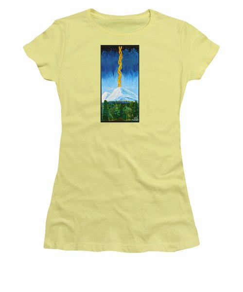 Mt. Shasta Women's T-Shirt (Athletic Fit)
