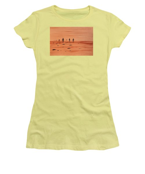 My Dreamtime 2 Women's T-Shirt (Junior Cut) by Tim Mullaney