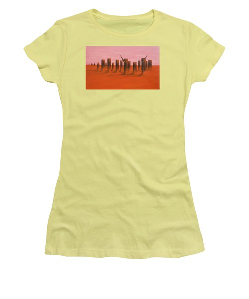 My Dreamtime 3 Women's T-Shirt (Junior Cut) by Tim Mullaney