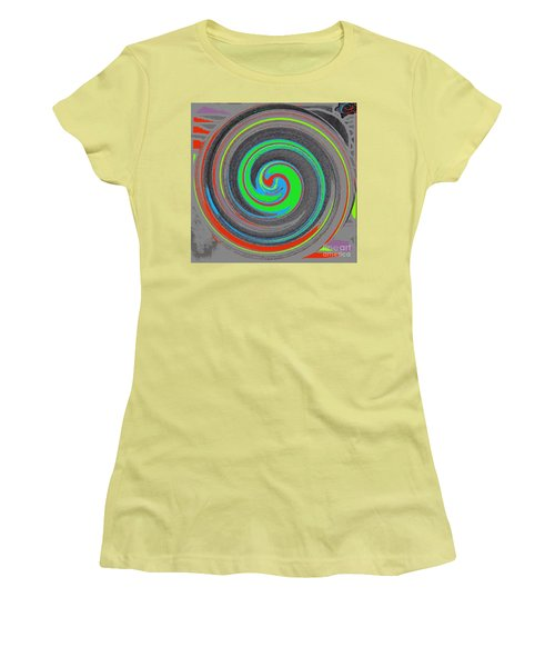 My Hurricane Women's T-Shirt (Junior Cut) by Catherine Lott