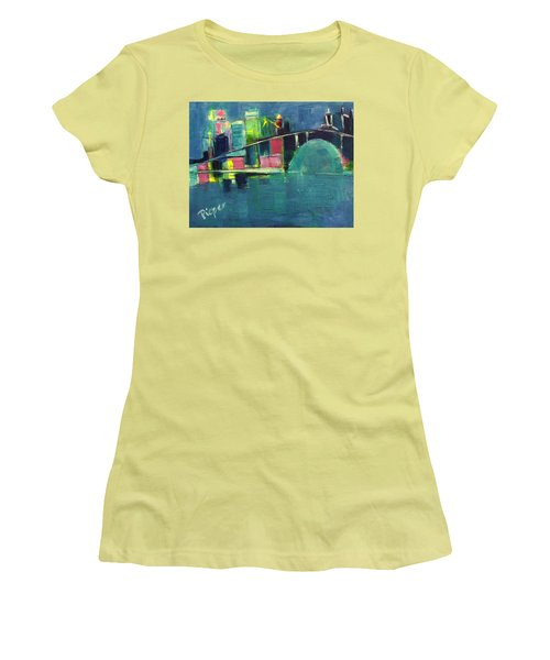 My Kind Of City Women's T-Shirt (Athletic Fit)