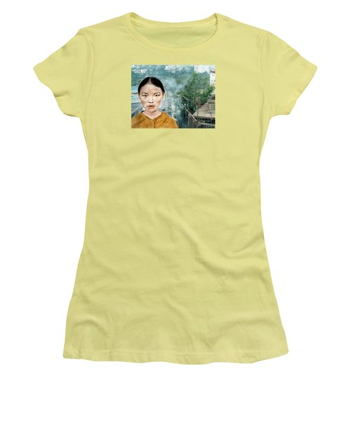 My Kuiama A Young Vietnamese Girl Version II Women's T-Shirt (Athletic Fit)