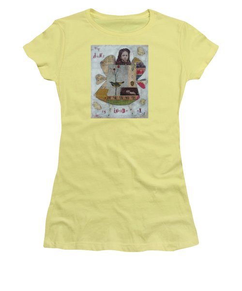 My Song Is Inside Me Women's T-Shirt (Junior Cut) by Casey Rasmussen White