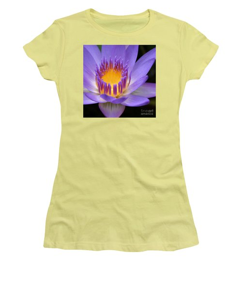 Women's T-Shirt (Athletic Fit) featuring the photograph My Soul Dressed In Silence by Sharon Mau