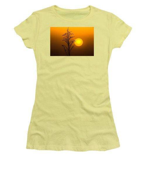 Mystical Sunset Women's T-Shirt (Junior Cut) by Shelby  Young