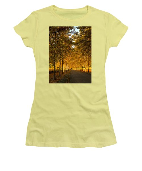 Napa Valley Fall Women's T-Shirt (Athletic Fit)