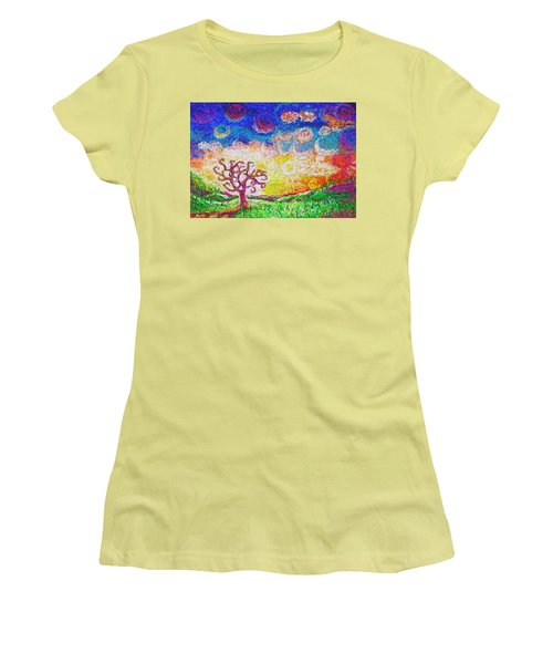 Nature 2 22 2015 Women's T-Shirt (Athletic Fit)