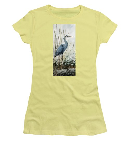 Natures Gentle Stillness Women's T-Shirt (Athletic Fit)