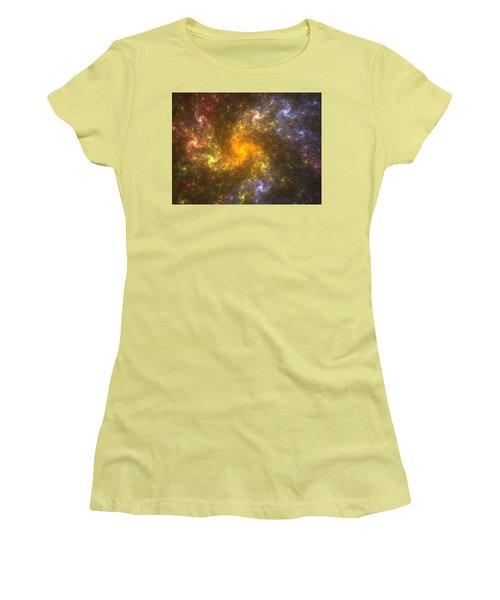 Nebula Women's T-Shirt (Junior Cut) by Svetlana Nikolova