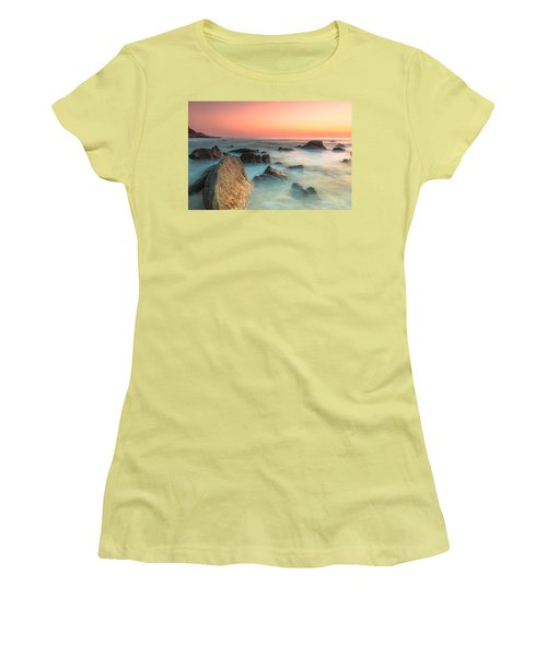 Neptune Lands Women's T-Shirt (Athletic Fit)
