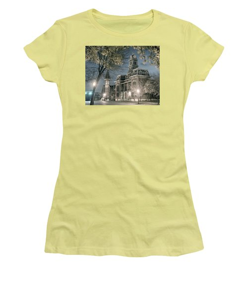 Night Court Women's T-Shirt (Junior Cut) by William Beuther