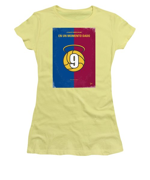 No272 My En Un Momento Dado Minimal Movie Poster Women's T-Shirt (Athletic Fit)