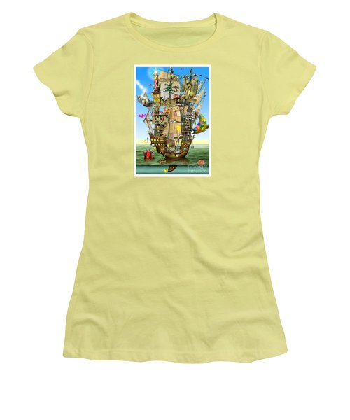 Norah's Ark Women's T-Shirt (Athletic Fit)