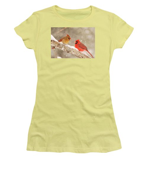 Northern Cardinals Women's T-Shirt (Athletic Fit)