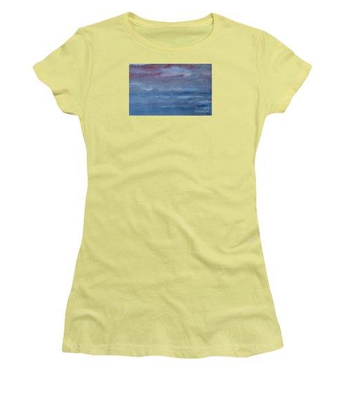 Northern Evening Women's T-Shirt (Junior Cut) by Susan  Dimitrakopoulos