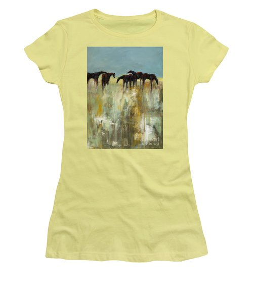 Not A Cloud In The Sky Women's T-Shirt (Junior Cut) by Frances Marino