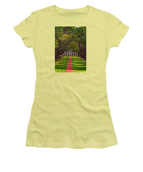 Oak Alley II Women's T-Shirt (Junior Cut) by Steve Harrington