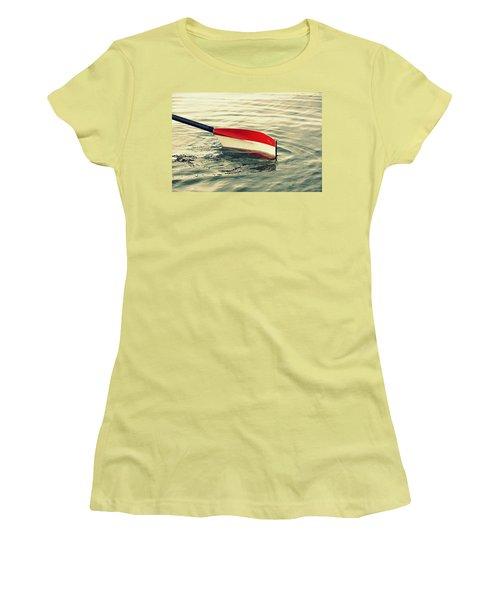 Oar Women's T-Shirt (Junior Cut) by Chevy Fleet