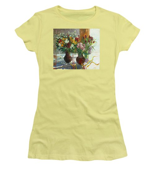Of Bouquets Plexus Women's T-Shirt (Athletic Fit)