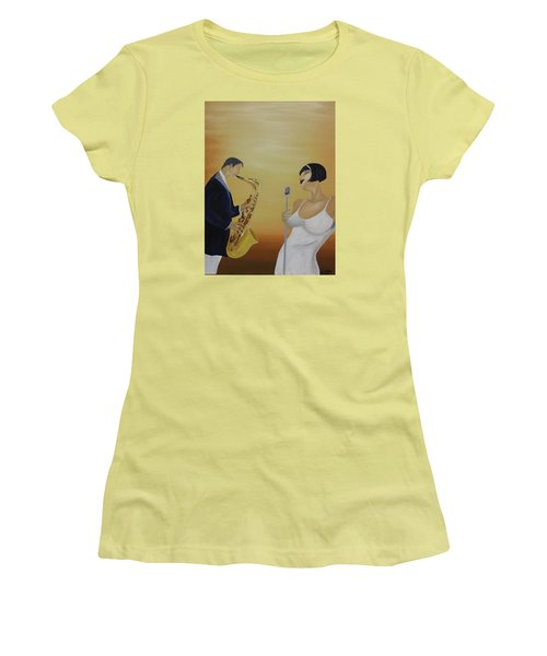 Oil Msc 001  Women's T-Shirt (Athletic Fit)