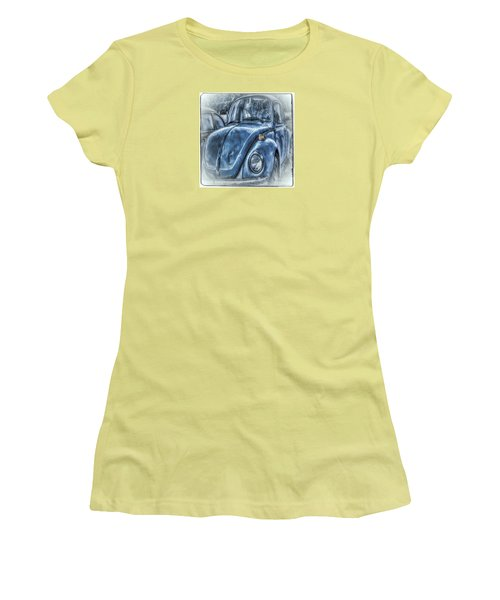 Old Blue Bug Women's T-Shirt (Athletic Fit)