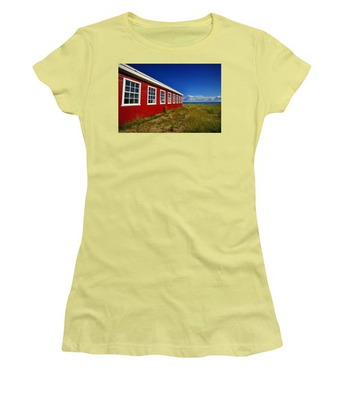 Old Cannery Building Women's T-Shirt (Athletic Fit)