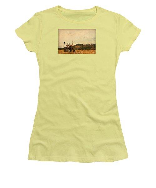 Old Red Women's T-Shirt (Junior Cut) by Joan Davis