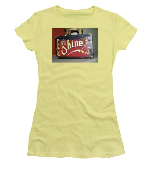 Old Shoe Shine Kit Women's T-Shirt (Junior Cut)