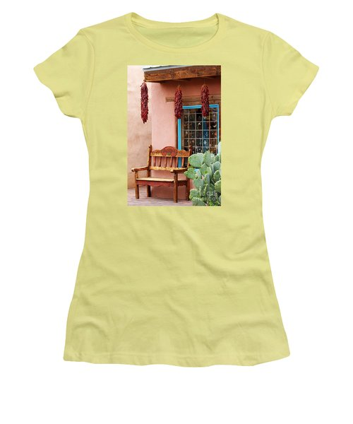 Old Town Albuquerque Shop Window Women's T-Shirt (Athletic Fit)
