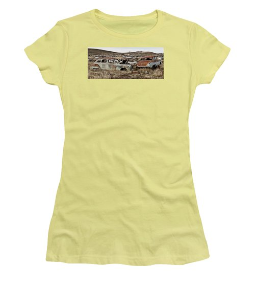 Old Wrecks Women's T-Shirt (Athletic Fit)