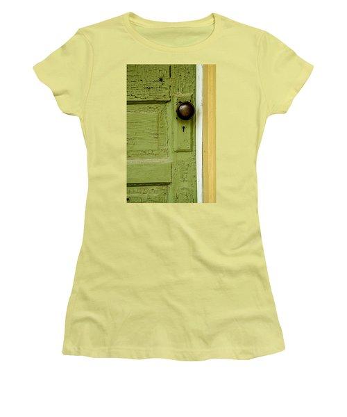 Olive Door Women's T-Shirt (Junior Cut)