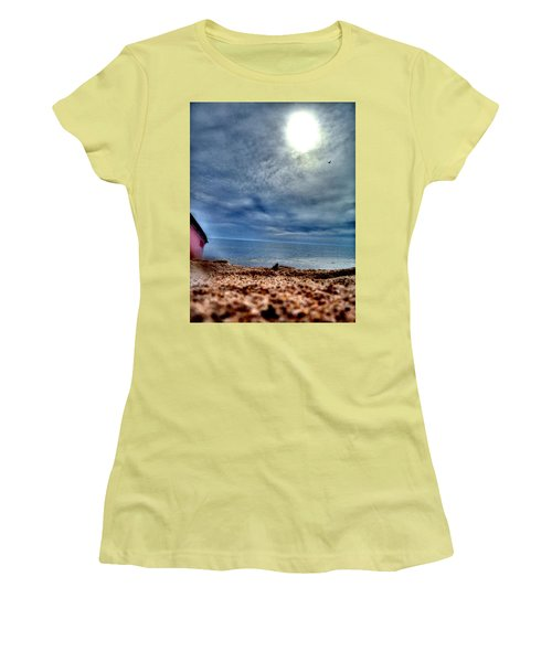 On The Beach Women's T-Shirt (Athletic Fit)