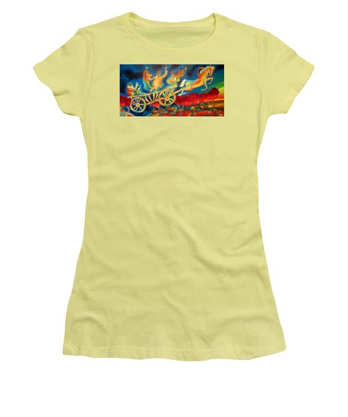 On The Road To Rebbe Women's T-Shirt (Athletic Fit)