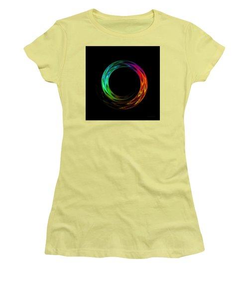 Once Around Women's T-Shirt (Junior Cut) by Judi Suni Hall