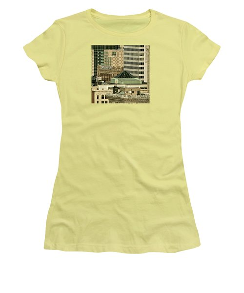 One On Top Of The Other Women's T-Shirt (Athletic Fit)