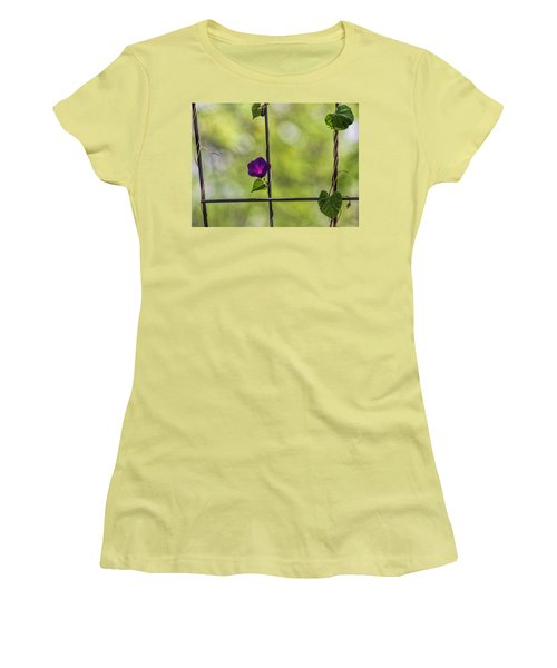 One Women's T-Shirt (Junior Cut) by Tammy Espino