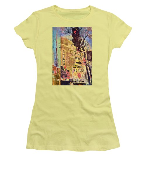 One Way To Uptown Women's T-Shirt (Athletic Fit)