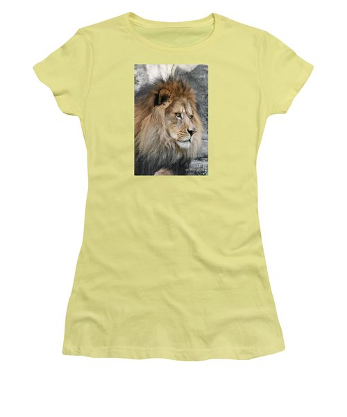 Women's T-Shirt (Junior Cut) featuring the photograph Onyo #13 by Judy Whitton