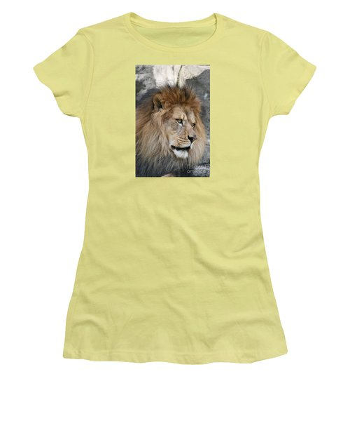 Women's T-Shirt (Junior Cut) featuring the photograph Onyo #4 by Judy Whitton