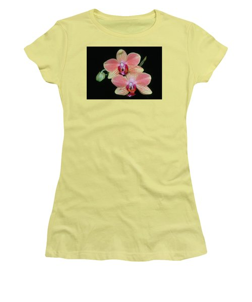 Orchid 4 Women's T-Shirt (Junior Cut) by Andy Shomock