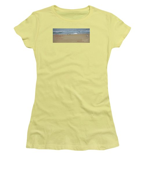 Our Journey  Women's T-Shirt (Junior Cut) by Robin Coaker