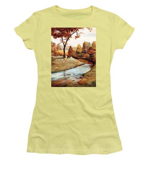 Our Secret Place Women's T-Shirt (Athletic Fit)