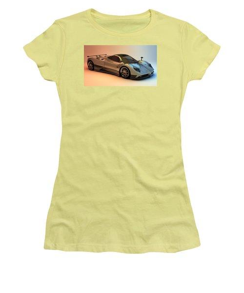 Pagani Zonda F Women's T-Shirt (Athletic Fit)