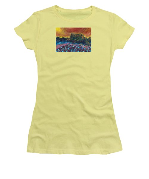 Painted Desert Women's T-Shirt (Athletic Fit)