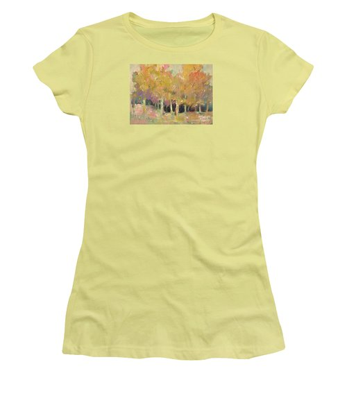 Pale Forest Women's T-Shirt (Junior Cut) by Michelle Abrams